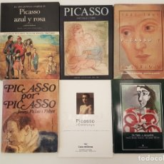 Libros de segunda mano: LOTE 6 LIBROS CATÁLOGOS DE PICASSO, VARIADOS. Lote 175993578