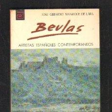 Libros de segunda mano: BEVLAS. MANRIQUE DE LARA, JOSE GERARDO. ARTISTAS ESPAÑOLES CONTEMPORÁNEOS. Nº119. A-ART-3244. Lote 176013758