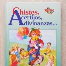 Libros de segunda mano: CHISTES, ACERTIJOS, ADIVINANZAS… (ED. SUSAETA). Lote 176039679