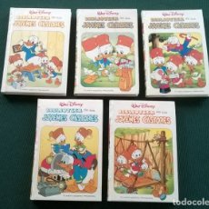 Libros de segunda mano: 5 LIBROS BIBLIOTECA DE LOS JOVENES CASTORES - WALT DISNEY - Nº 2 3 4 10 11 - AÑO 1988 - LEER ESTADO. Lote 176051644