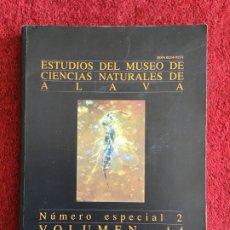 Libros de segunda mano: ESTUDIOS DEL MUSEO DE CIENCIAS NATURALES DE ÁLAVA. 1999. AMBAR. Lote 176062390
