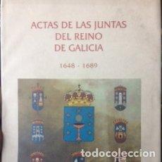 Libros de segunda mano: ACTAS DE LAS JUNTAS DEL REINO DE GALICIA 1648-1689 VERSIÓN DIGITAL EN 5 CD-ROM. Lote 176068034