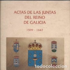 Libros de segunda mano: ACTAS DE LAS JUNTAS DEL REINO DE GALICIA 1599-1647. VERSIÓN DIGITAL EN 5 CD-ROM. Lote 176068224