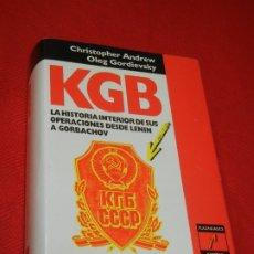 Libros de segunda mano: KGB, LA HISTORIA INTERIOR DE SUS OPERACIONS DESDE LENIN A GORBACHOV, DE ANDREW Y GORDIEVSKY 1991. Lote 176087755