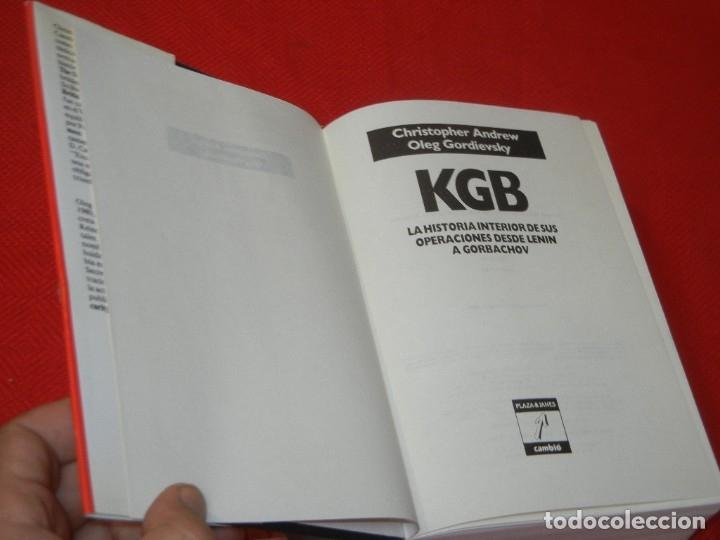 Libros de segunda mano: KGB, LA HISTORIA INTERIOR DE SUS OPERACIONS DESDE LENIN A GORBACHOV, DE ANDREW Y GORDIEVSKY 1991 - Foto 2 - 176087755