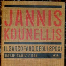 Libros de segunda mano: JANNIS KOUNELLIS - IL SARCOFAGO DEGLI SPOSI - HATJE CANTZ / MAK - ART POVERA. Lote 176095508