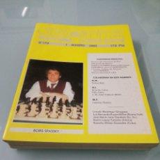 Libros de segunda mano: REVISTA JAQUE DE AJEDREZ. 11 EJEMPLARES. 1984-1985.. Lote 176132439