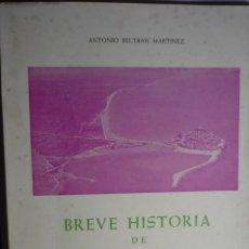 Libros de segunda mano: LIBRO BREVE HISTORIA DE PEÑISCOLA - 1968 ANTONIO BELTRAN 122 PAG.FOTOS B-N. Lote 176173582