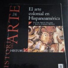 Libros de segunda mano: EL ARTE COLONIAL EN HISPANOAMÉRICA. Lote 176210404