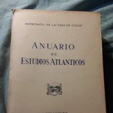 Libros de segunda mano: ANUARIO DE ESTUDIOS ATLANTICOS 1982 (Nº 28). CANARIAS. INTONSO.. Lote 176209420