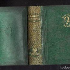 Libros de segunda mano: OBRAS COMPLETAS TOMO IV DE EDUARDO MARQUINA - M. AGUILAR, EDITOR - MADRID, 1944 - . Lote 176216834
