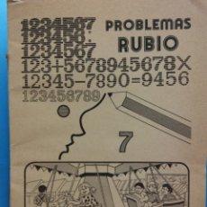 Libri di seconda mano: PROBLEMAS RUBIO 7. EDICIONES TÉCNICAS RUBIO. Lote 176269517