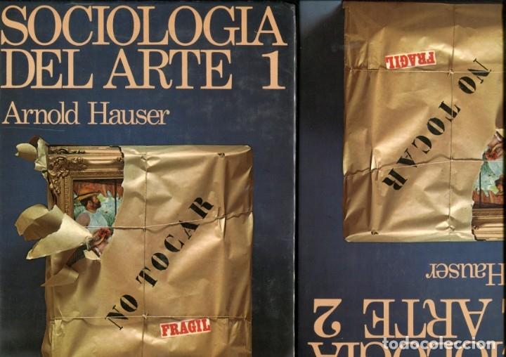 ARNOLD HAUSER. SOCIOLOGIA DL ARTE. 2 VOLÚMENES. ED. GUADARRAMA 1975. TAPA DURA ILUSTRADA (Libros de Segunda Mano - Bellas artes, ocio y coleccionismo - Otros)