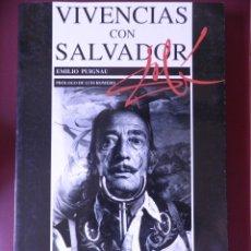 Libros de segunda mano: VIVENCIAS CON SALVADOR DALI. EMILIO PUIGNAU.EDITORIAL JUVENTUD.BARCELONA 1995. Lote 176278153