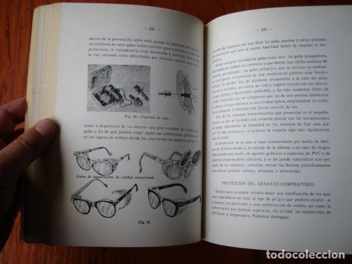 Libros de segunda mano: LIBRO SEGURIDAD E HIGIENE EN EL TRABAJO JOSE PENDAS DIAZ 1971 - Foto 3 - 176356242