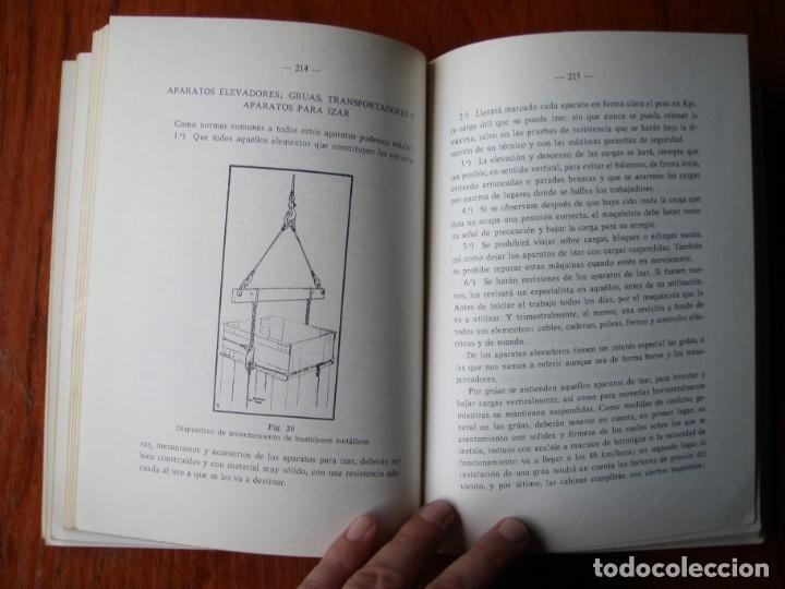 Libros de segunda mano: LIBRO SEGURIDAD E HIGIENE EN EL TRABAJO JOSE PENDAS DIAZ 1971 - Foto 5 - 176356242