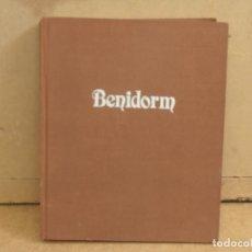 Libros de segunda mano: BENIDORM RECOPILACION FOTOGRÁFICA - COMISSIÓ DE FESTES PTRONALS 1985. Lote 176489229