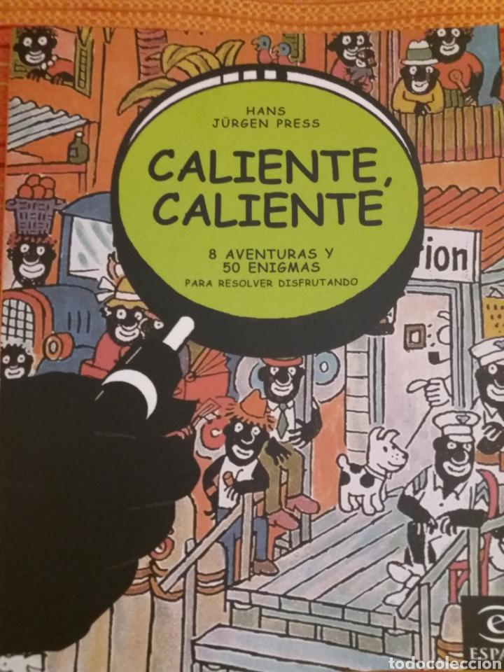 CALIENTE CALIENTE 8 AVENTURAS Y 50 ENIGMAS PARA RESOLVER DISFRUTANDO (Libros de Segunda Mano - Literatura Infantil y Juvenil - Otros)