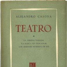 Libros de segunda mano: 0015055 TEATRO / ALEJANDRO CASONA. Lote 176495240