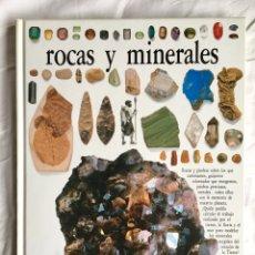 Libros de segunda mano: ROCAS Y MINERALES - BIBLIOTECA VISUAL ALTEA 1990 (COMO NUEVO). Lote 176500037