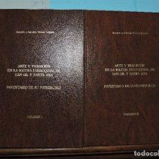 Libros de segunda mano: ARTE Y TRADICIÓN EN LA IGLESIA PARROQUIAL DE SAN GIL Y SANTA ANA: INVENTARIO DE SU PATRIMONIO. . Lote 176550327