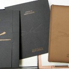 Libros de segunda mano: ENSAYOS DE MONTAIGNE. ILUSTRADOS POR SALVADOR DALÍ. LÁMINAS. EDICIÓN DE LUJO. Lote 176630510