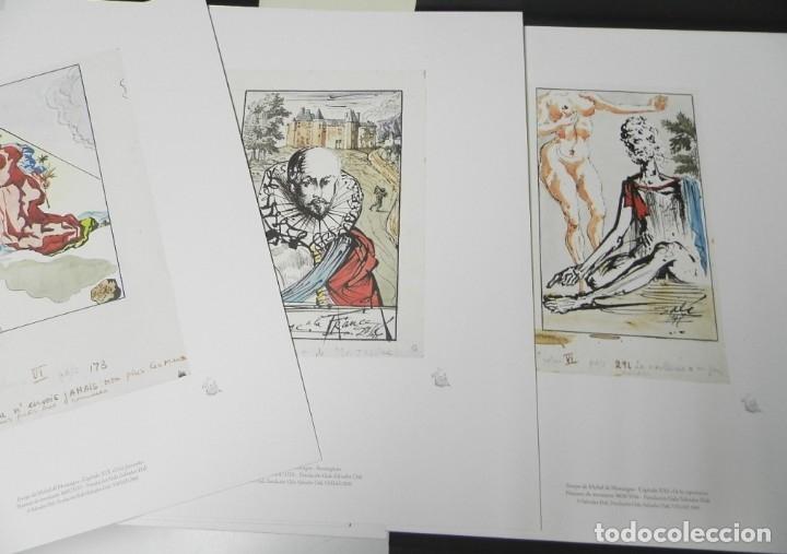 Libros de segunda mano: ENSAYOS DE MONTAIGNE. ILUSTRADOS POR SALVADOR DALÍ. LÁMINAS. EDICIÓN DE LUJO - Foto 4 - 176630510