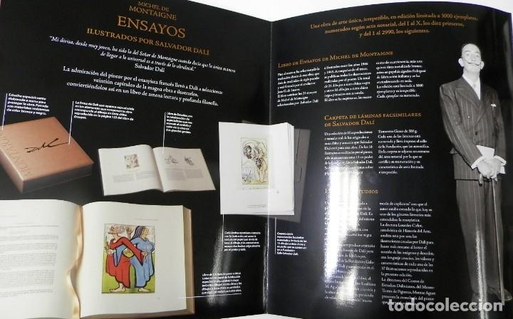 Libros de segunda mano: ENSAYOS DE MONTAIGNE. ILUSTRADOS POR SALVADOR DALÍ. LÁMINAS. EDICIÓN DE LUJO - Foto 10 - 176630510