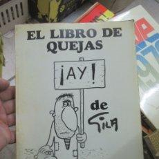 Libros de segunda mano: EL LIBRO DE QUEJAS, GILA. L.809-1316. Lote 176642815
