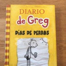 Libros de segunda mano: DIARIO DE GREG DÍAS DE PERROS. Lote 176668842