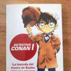 Livros em segunda mão: DETECTIVE CONAN 1 LA LEYENDA DEL TESORO DE KOSHU GOSHO AOYAMA Y YUTAKA TANI. Lote 176669548