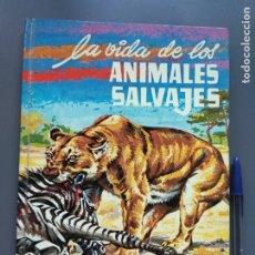 Libros de segunda mano: ANIMALES SALVAJES, 1974, EDITORIAL EVEREST. Lote 176686130