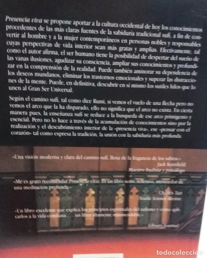 Libros de segunda mano: PRESENCIA VIVA. EL CAMINO SUFÍ - HELMINSKI, KABIR E. / MUY ESCASO - Foto 2 - 176692444