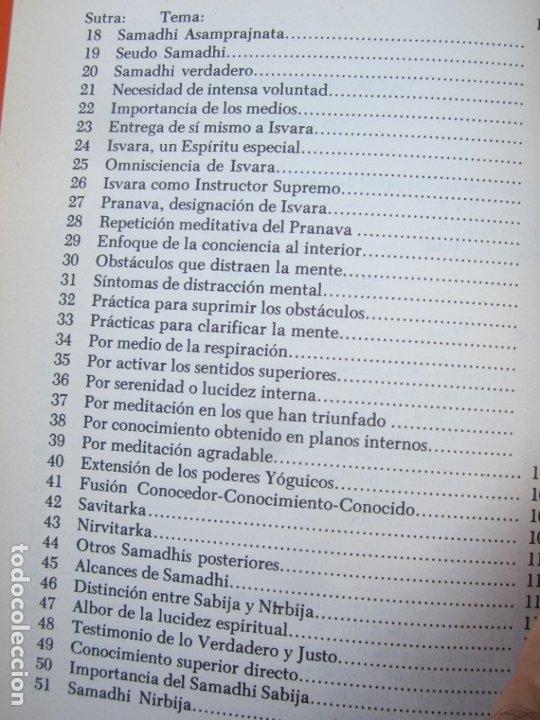 Libros de segunda mano: LA CIENCIA DEL YOGA , j. k. taimni, federacion teosofica interamericana , 1983 - Foto 5 - 176727833