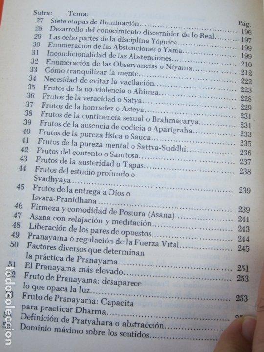 Libros de segunda mano: LA CIENCIA DEL YOGA , j. k. taimni, federacion teosofica interamericana , 1983 - Foto 7 - 176727833