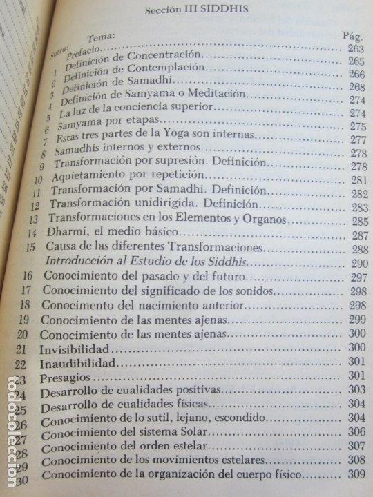 Libros de segunda mano: LA CIENCIA DEL YOGA , j. k. taimni, federacion teosofica interamericana , 1983 - Foto 8 - 176727833