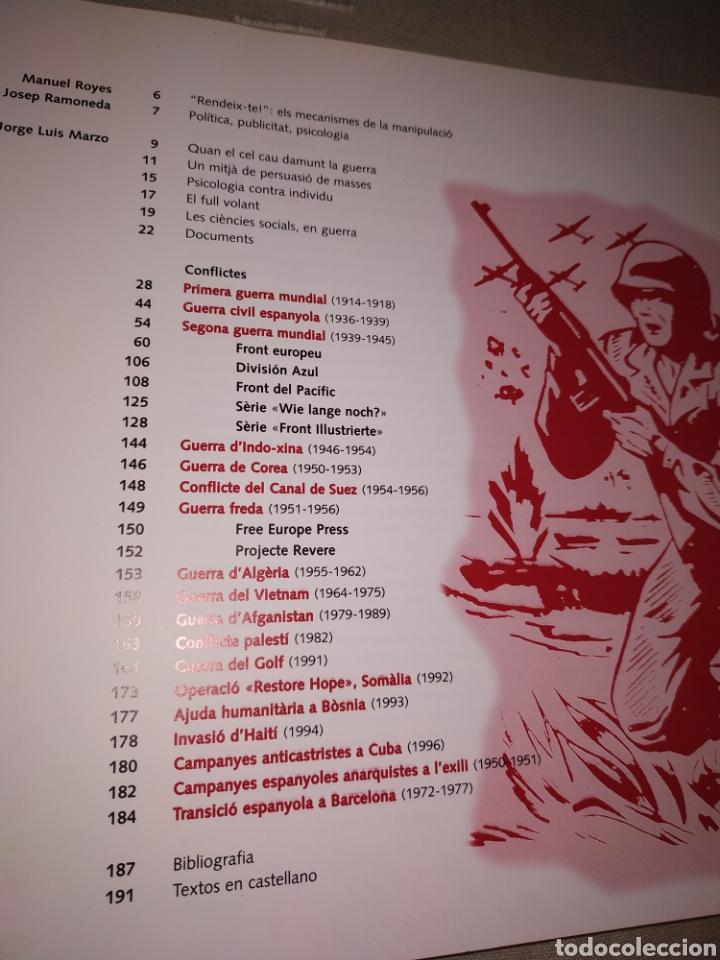 Libros de segunda mano: Rendeix-te! Fulls volants i guerra psicològica. Catálogo de la exposición en el CCCB de 1998. - Foto 3 - 176750482