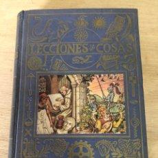 Libros de segunda mano: LECCIONES DE COSAS. Lote 176758310