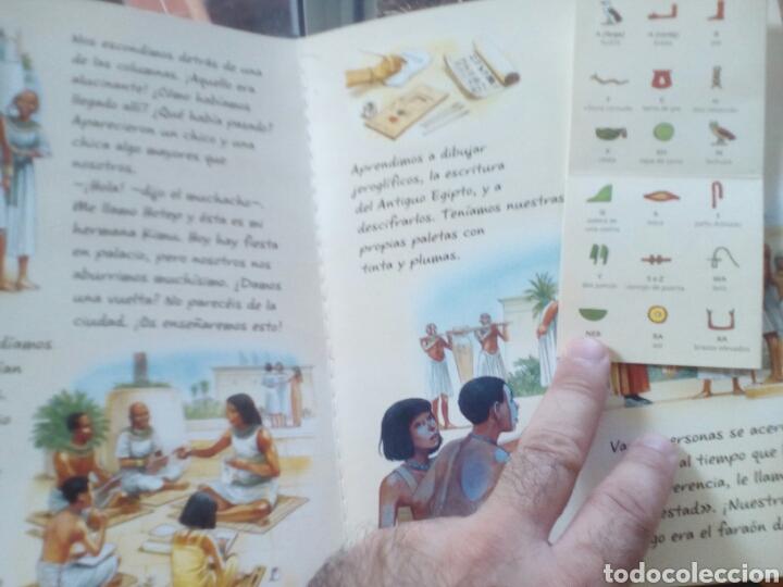 Libros de segunda mano: El antiguo Egipto (Viaja a la época de). Nicholas Harris - Foto 2 - 176765072