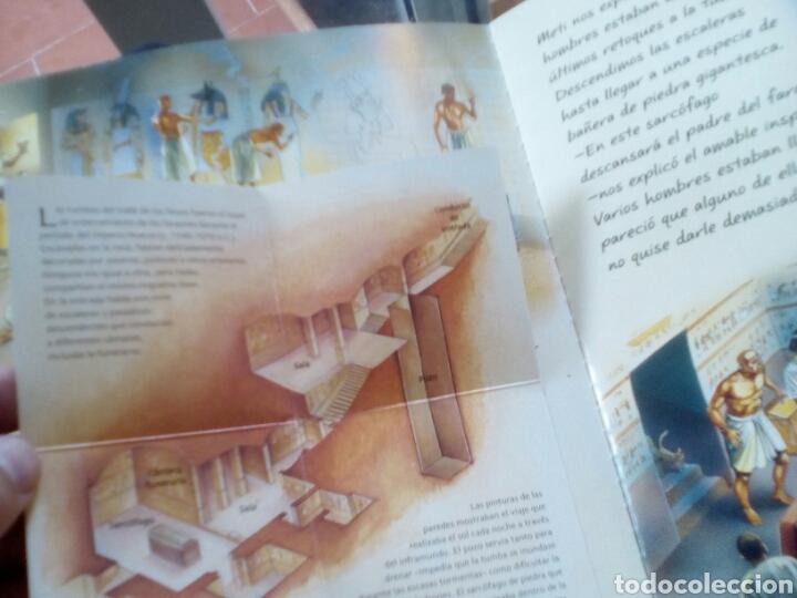 Libros de segunda mano: El antiguo Egipto (Viaja a la época de). Nicholas Harris - Foto 4 - 176765072