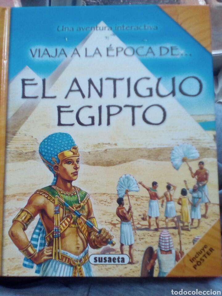 EL ANTIGUO EGIPTO (VIAJA A LA ÉPOCA DE). NICHOLAS HARRIS (Libros de Segunda Mano - Literatura Infantil y Juvenil - Otros)