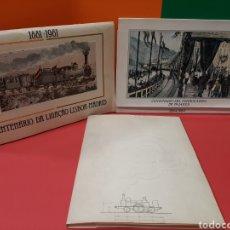 Libros de segunda mano: RENFE, TRES LIBROS, VER FOTOS Y TITULOS.. Lote 176767508