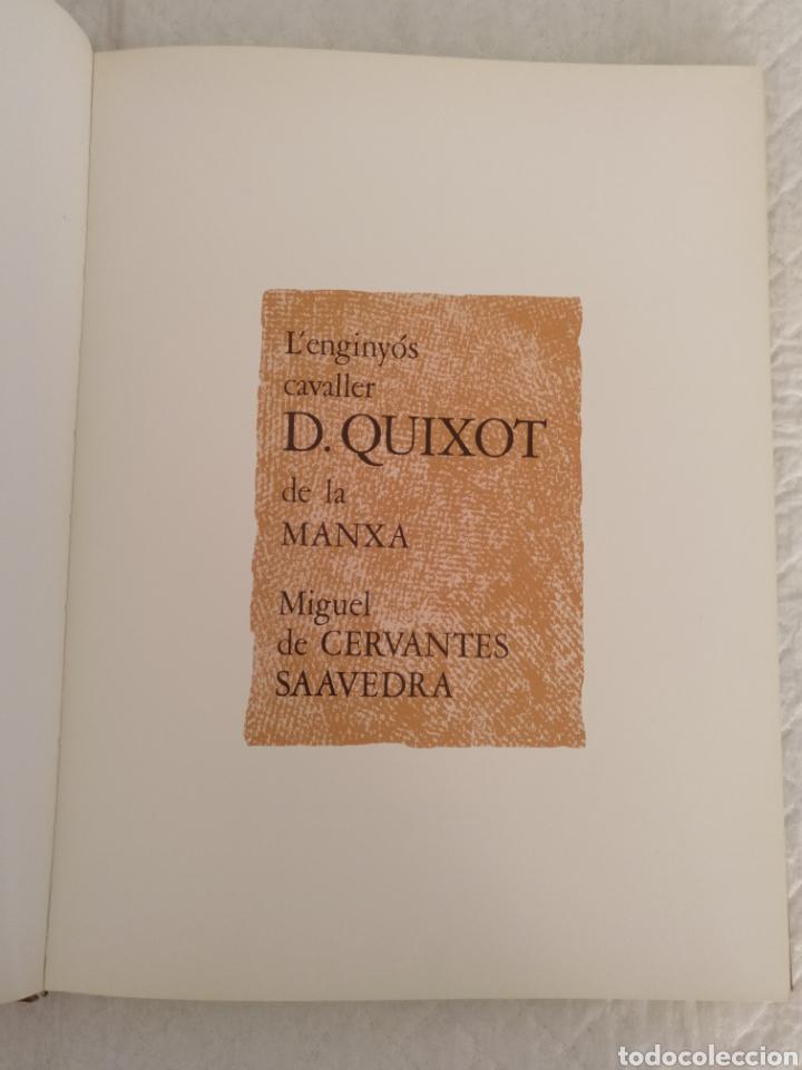 Libros de segunda mano: L enginyós cavaller Don Quixot de la Manxa. Llibre libro - Foto 2 - 176783964
