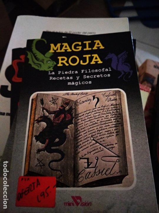 MAGIA ROJA. LA PIEDRA FILOSOFAL. RECETAS Y SECRETOS MAGICOS. EDICOMUNICACION (Libros de Segunda Mano - Parapsicología y Esoterismo - Otros)