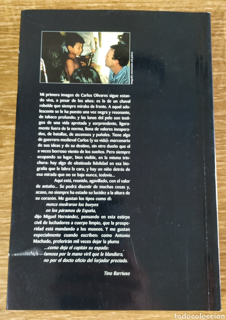 Libros de segunda mano: Libro - Desde mi Libertad. 1992-2000 (2000) Carlos Olivares. Prólogo de Arturo Pérez Reverte - Foto 2 - 176794574