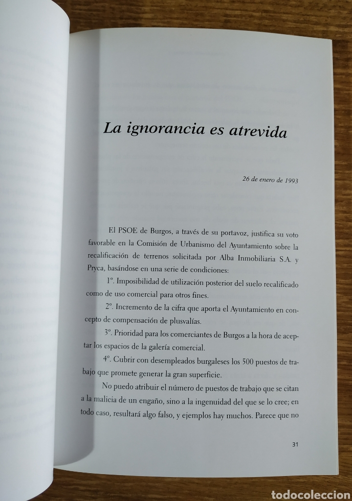Libros de segunda mano: Libro - Desde mi Libertad. 1992-2000 (2000) Carlos Olivares. Prólogo de Arturo Pérez Reverte - Foto 3 - 176794574