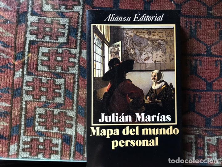 Mapa Del Mundo Personal Julián Marías