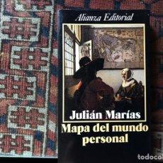 Libros de segunda mano: MAPA DEL MUNDO PERSONAL. JULIÁN MARÍAS. Lote 176795140