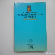 Libros de segunda mano: DARÍO VILLANUEVA EL COMENTARIO DE TEXTOS NARRATIVOS:LA NOVELA Y96059. Lote 187109036