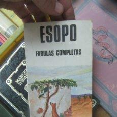 Libros de segunda mano: FÁBULAS COMPLETAS, ESOPO. L.19132-45. Lote 176815924